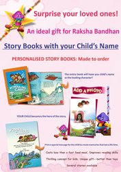 Special Rakhi  edition of Personalised Story book