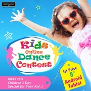 Kids Online Dance Contest 2013