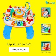 Multifunctional Activity Table for Kids | Learning toy