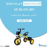 Techhark Squad Novanym Little Kids Play Tricycles