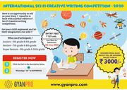International scifi creative compeatation for kids