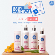 Buy 2 Get 3 on Baby care Products | Baby Carnival | The Moms Co.